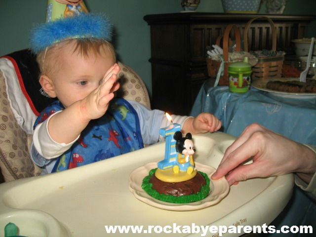 Nick's First Birthday