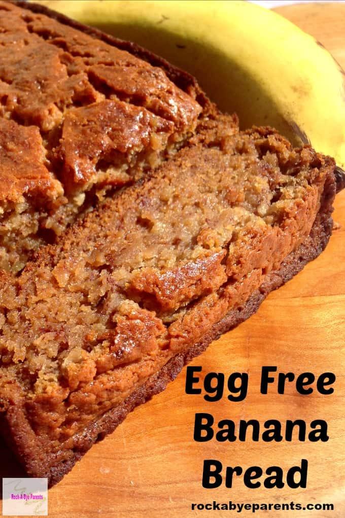 Egg Free Banana Bread Recipe