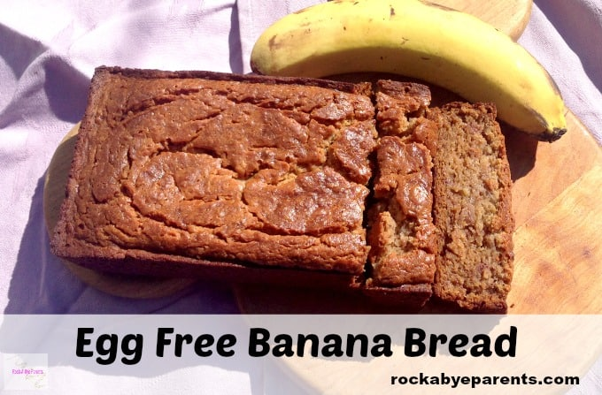 Sour Cream Banana Bread without Egg
