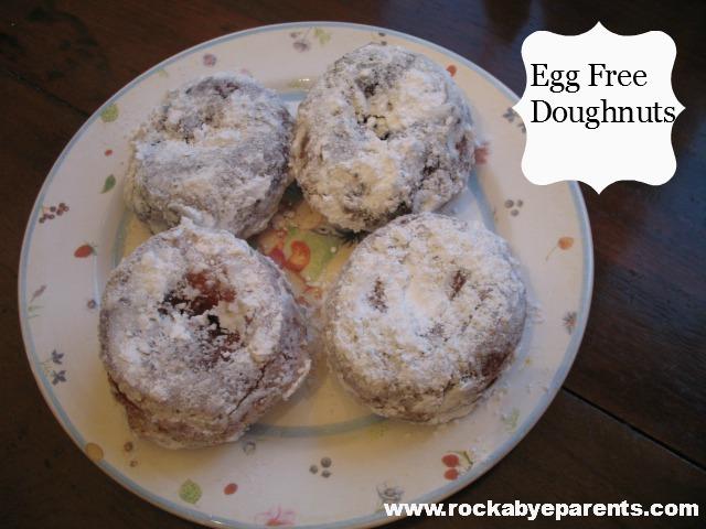 Egg Free Doughnuts