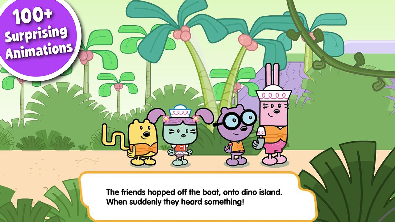 Wubbzy's Dinosaur Story