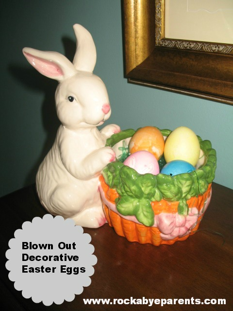 How to Make Blown Out Decorative Easter Eggs