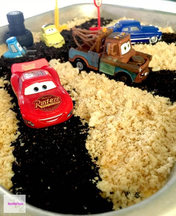Disney Pixar Cars Themed Egg Free Cake