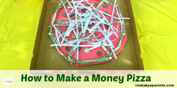 Pizza Made out of Money