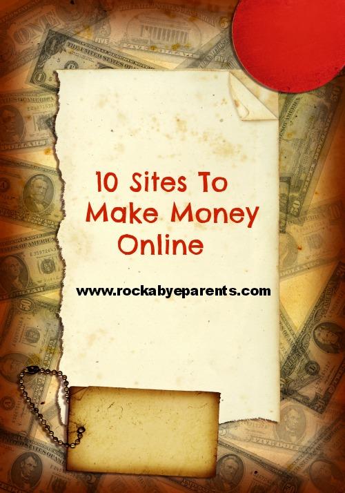 10 Sites To Make Money Online