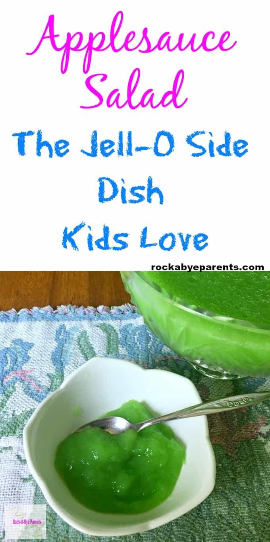 Applesauce Salad: The Jell-O Side Dish Kids Love