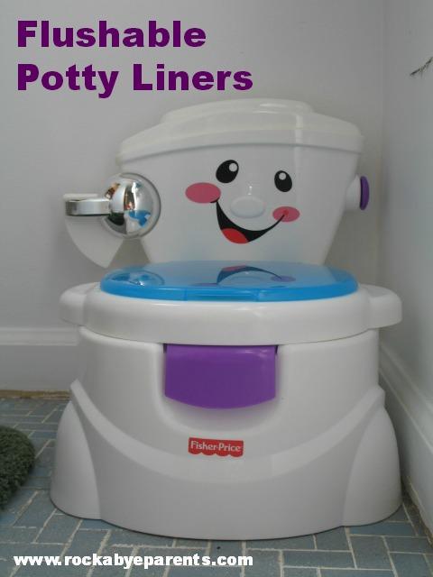 Flushable Potty Liners