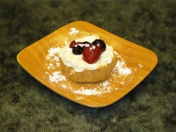 Mini Patriotic Cheesecake