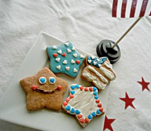 Star Spangled Cookies