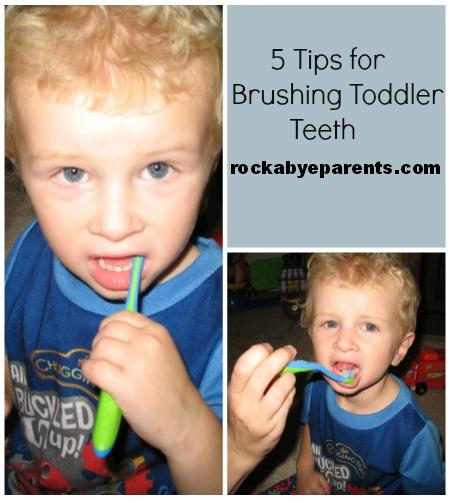 5 Tips For Brushing Toddler Teeth