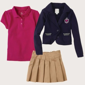 Girl School Uniform