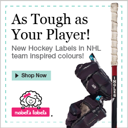 Mabel's Labels Hockey Labels