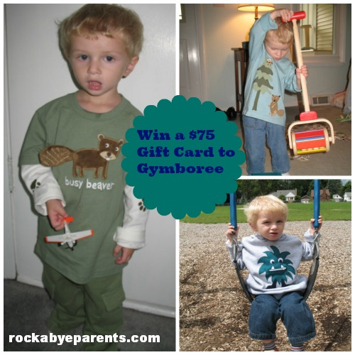 Going Back to School With Gymboree (Fall 2013) - Win a $75 Gift Card
