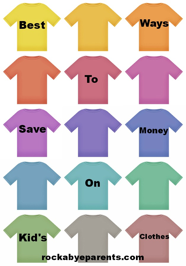 Best Ways To Save Money On Kid's Clothes