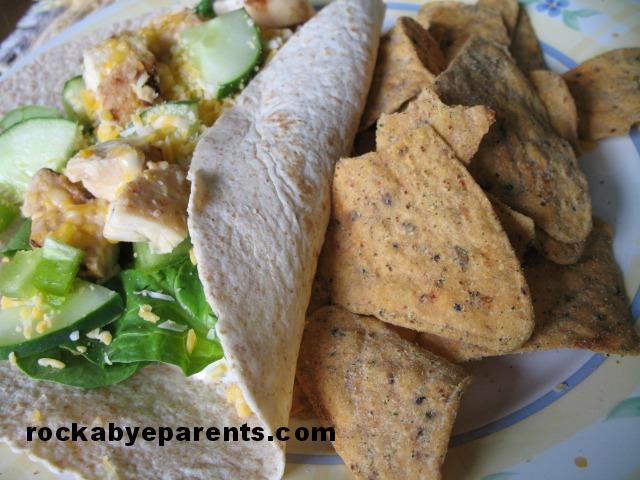 Green Giant Roasted Veggie Tortilla Chip - Garden Ranch Next to Chicken Wrap