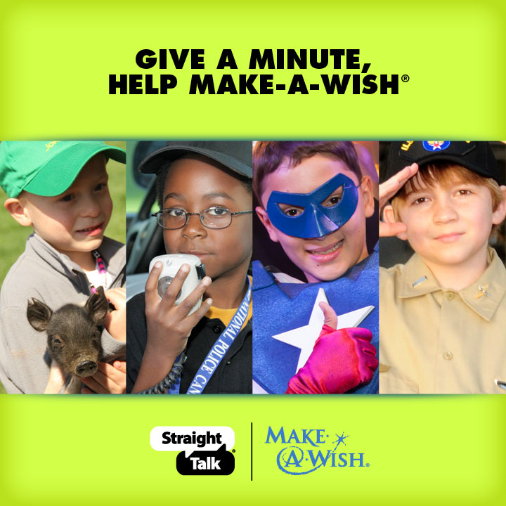 Give A Minute And Help Make-A-Wish