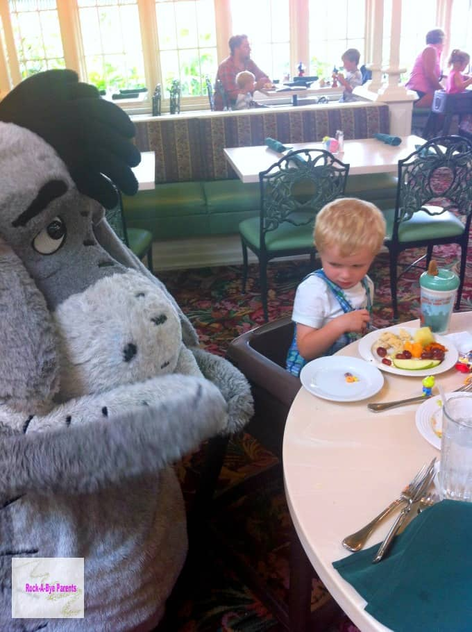 Character Dining with the Disney Dining Plan