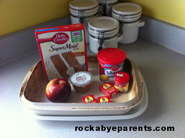 Harvest Cake Ingredients