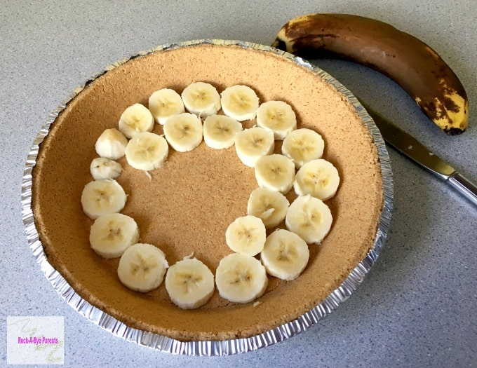 Banana Cream Pie without Eggs
