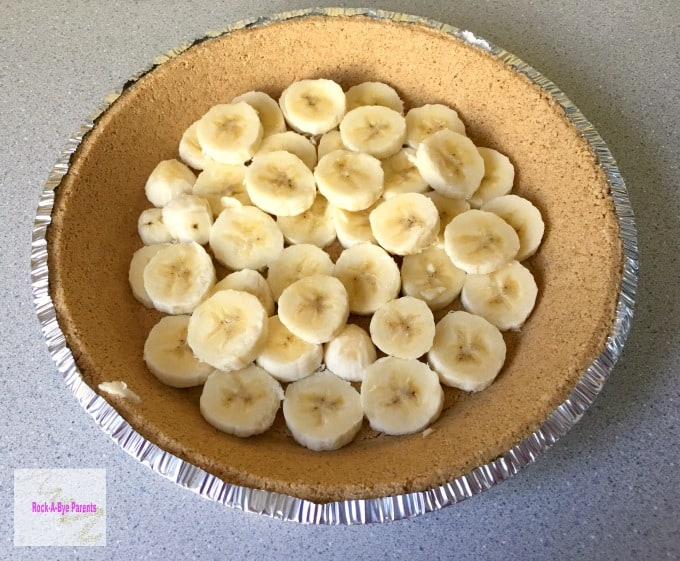 Egg Free Banana Pie