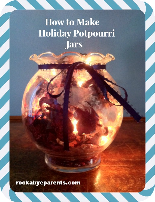 How to Make Holiday Potpourri Jars