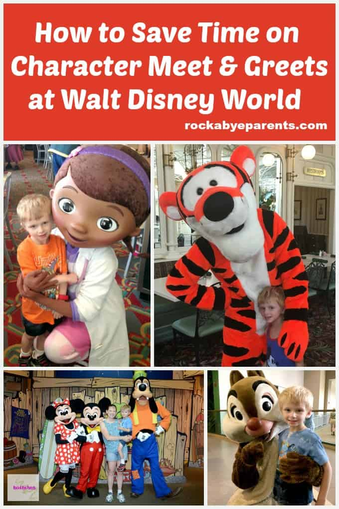 Disney World Characters: How to Save Time on Meet & Greets