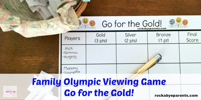 Go for the Gold Olympic Game