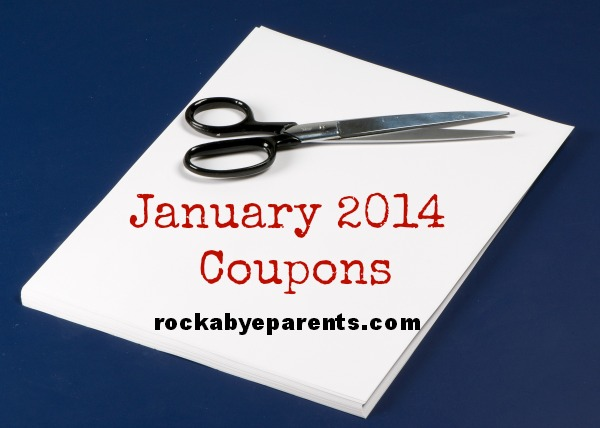 January 2014 Coupons