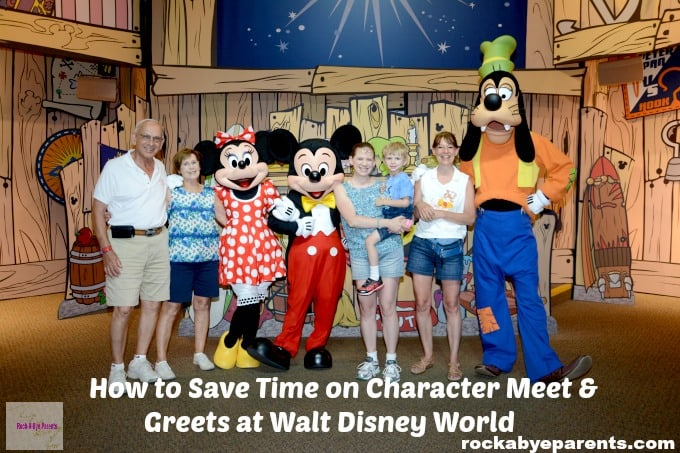 Tips for Seeing Walt Disney World Characters without Wasting all your Vacation Time