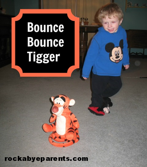 Bounce Bounce Tigger: A Good Activity Toy