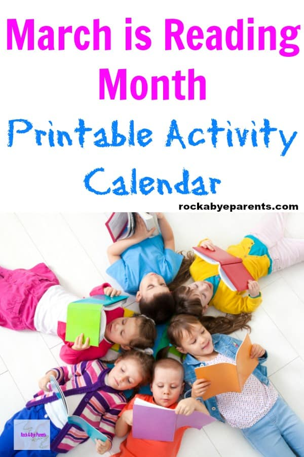 March is Reading Month Activities