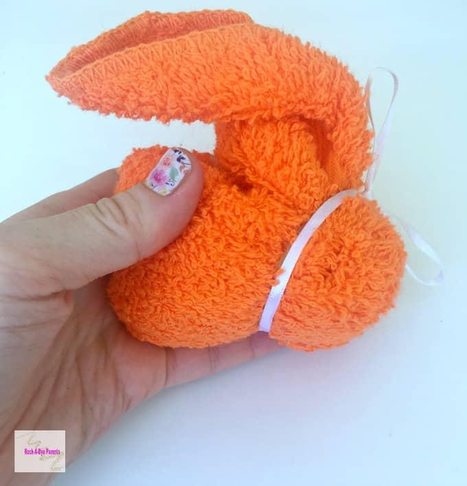 Towel Origami Bunny