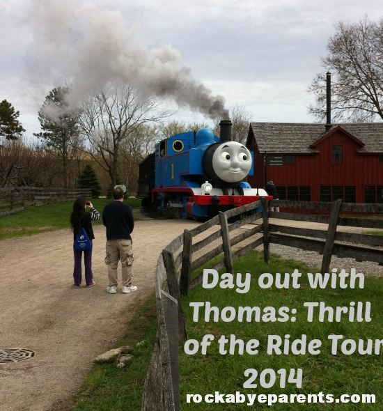 Day out with Thomas Thrill of the Ride Tour