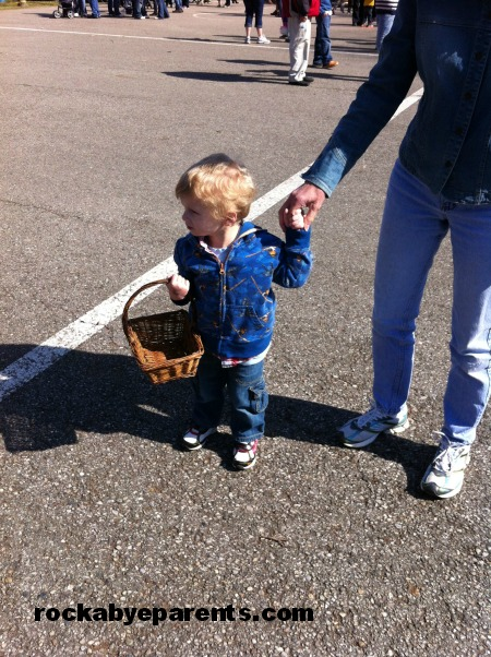 Easter Egg Hunt Time
