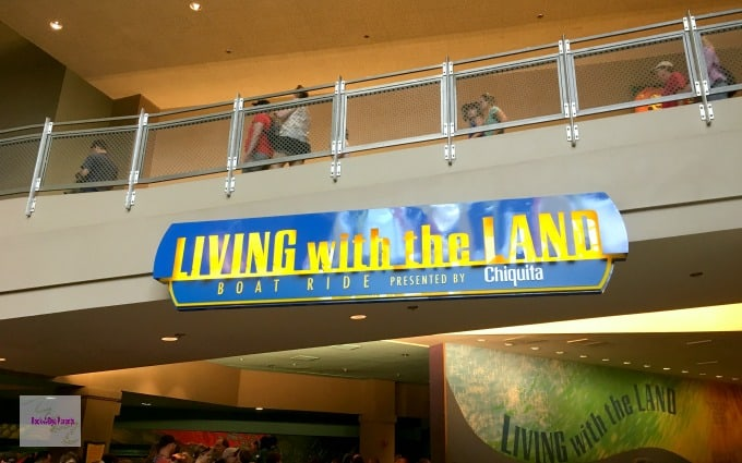Living with the Land Boat Ride in Epcot