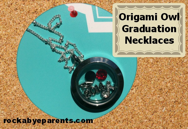 Origami Owl Graduation Necklaces