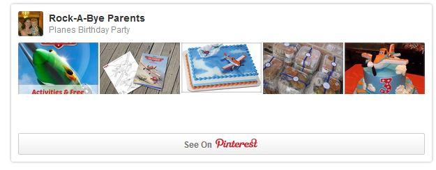 Planes Pinterest Board