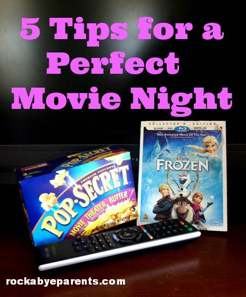 Tips for a Perfect Movie Night