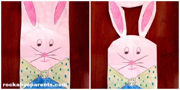 ColoredCut Bunny Bag