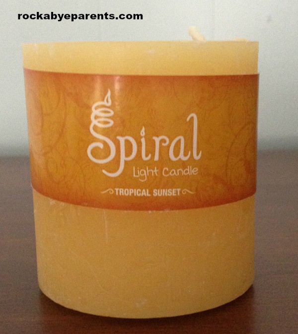 Tropical Sunset Candle