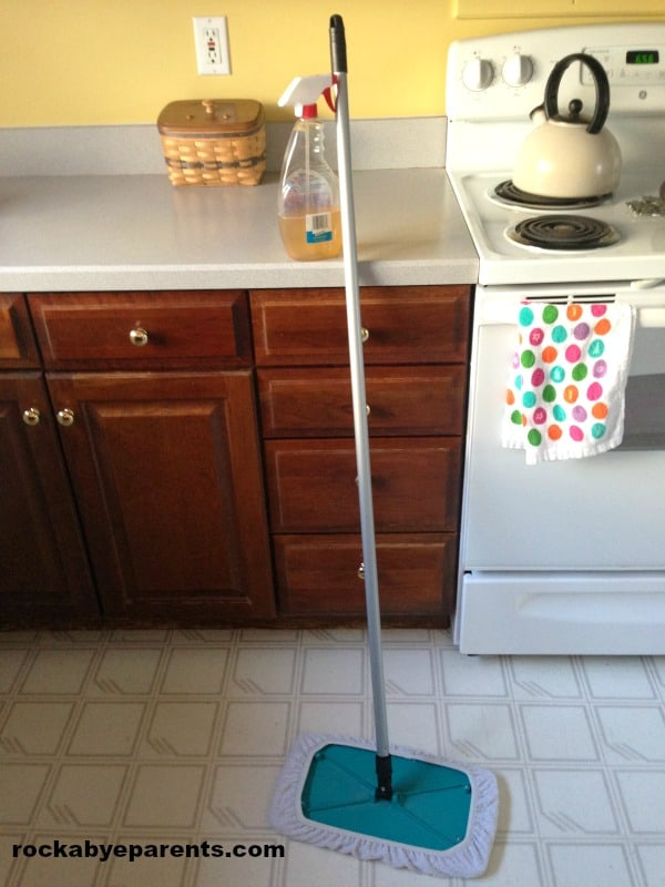 Clean your Floors with the Sh-Mop!