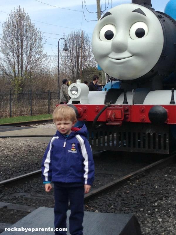 Nick with Thomas