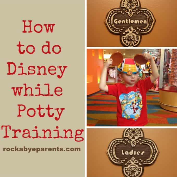 How to do Disney While Potty Training