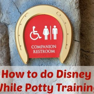 Potty Training at Disney