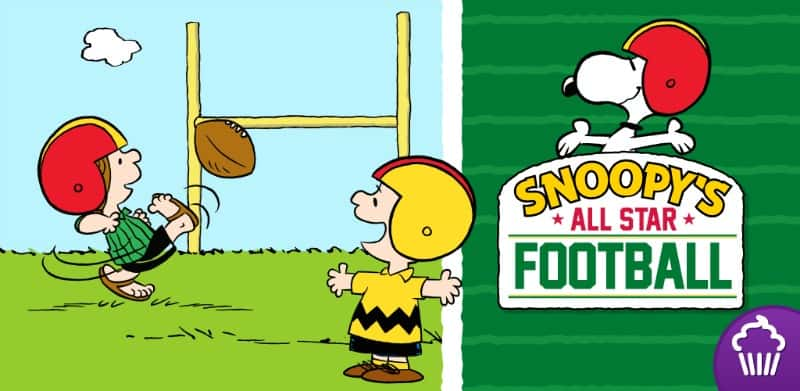 Snoopy's All Star Football App Review