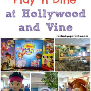 Disney Junior Play 'n Dine Breakfast at Hollywood & Vine