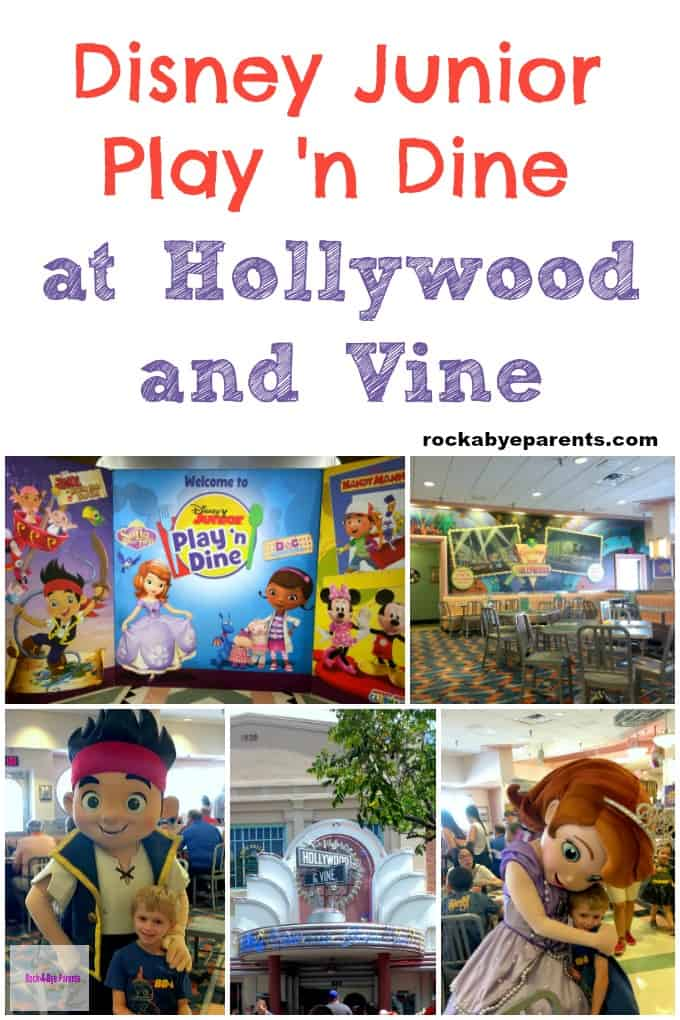 Disney Junior Play 'n Dine Breakfast at Hollywood and Vine