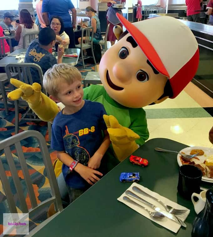 Handy Manny at Disney Junior Play n Dine