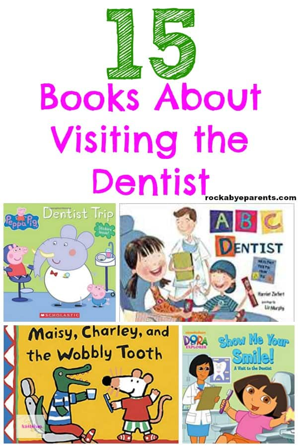 15 Books About Visiting the Dentist