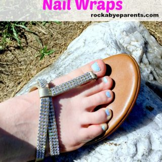 Jamberry Pedicure: How to Have Great Looking Toes with Nail Wraps